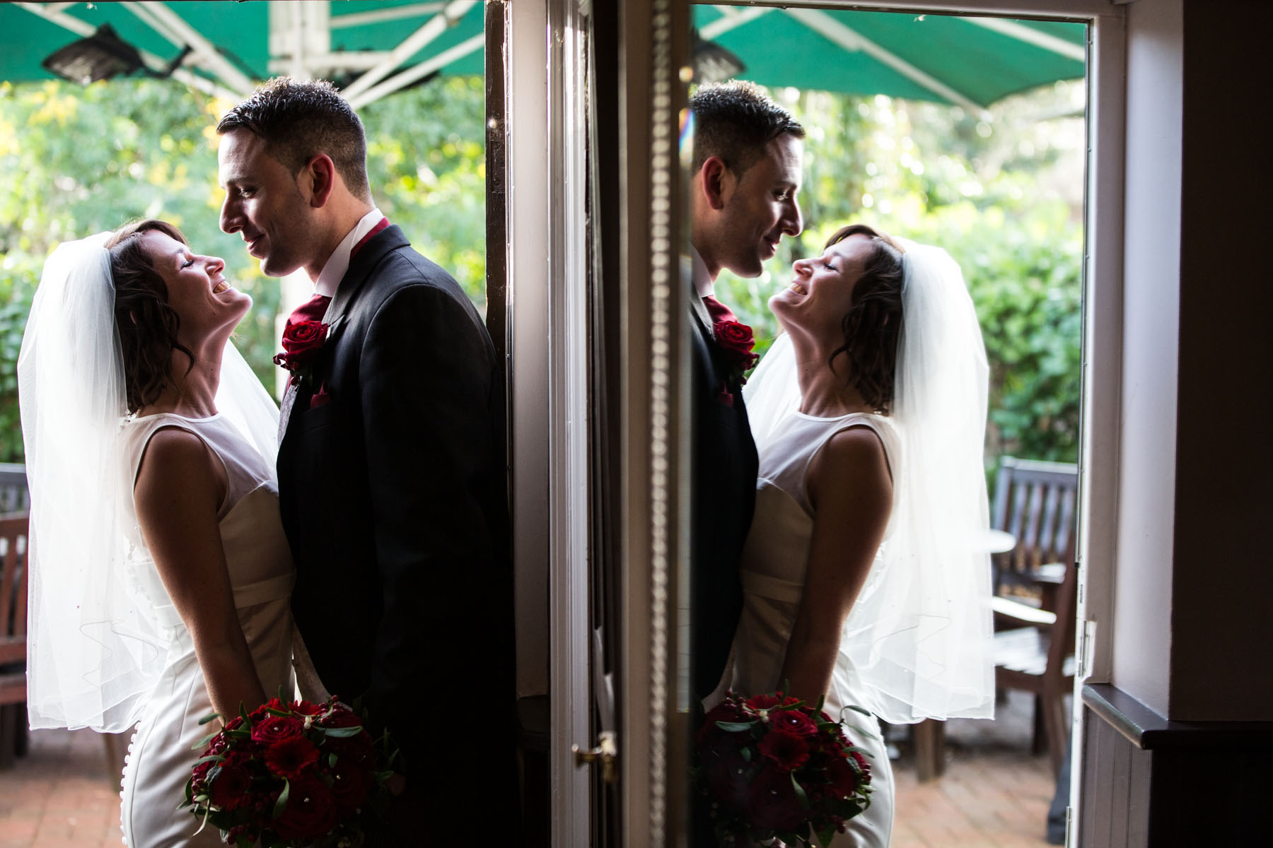 Barns Hotel Bedford Documentary Wedding Photographer
