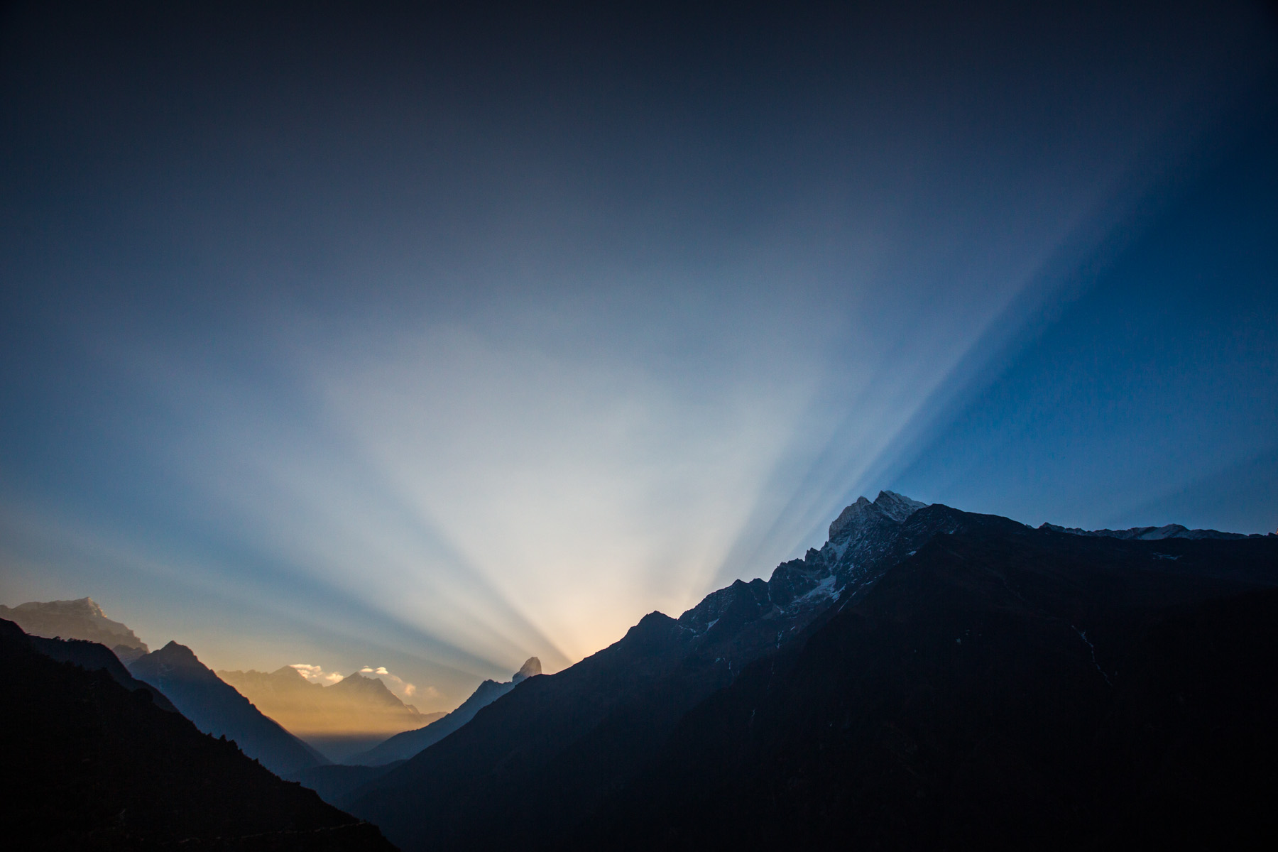 Himalayan Sunrise Over Everest