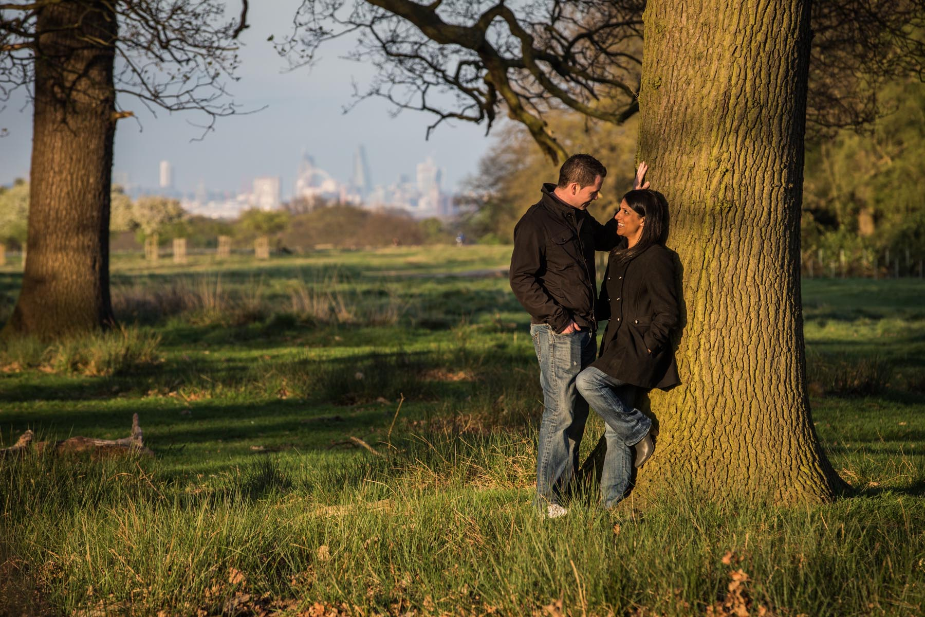 Richmond Park Engagement Photographer