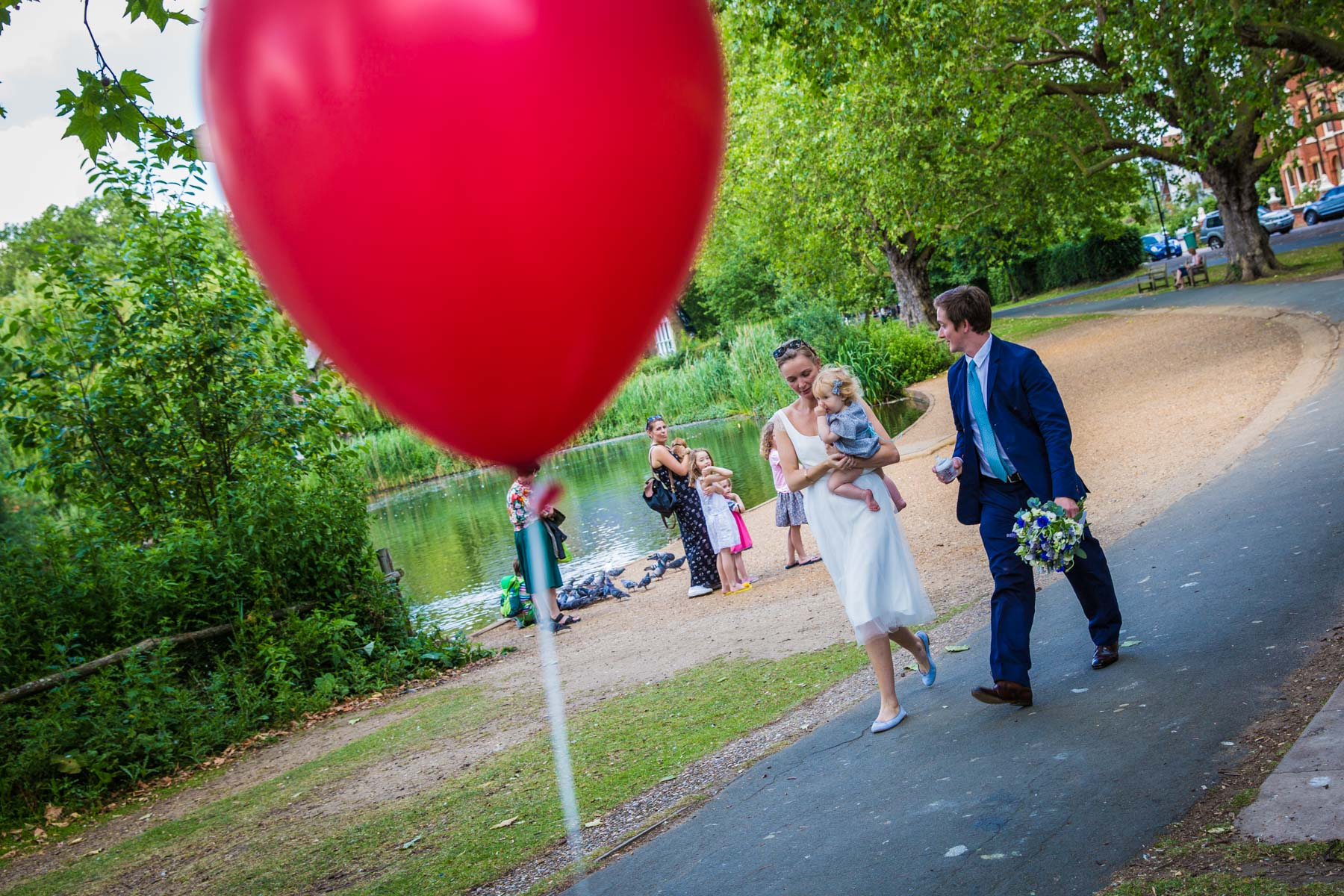 Barnes Wedding Photography by London Wedding Photographer Richard Murgatroyd