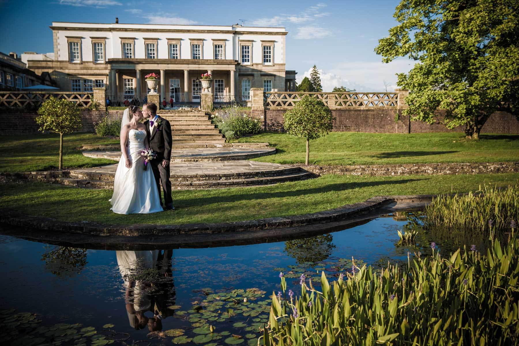 Buxted Park Hotel Sussex wedding photographer Richard Murgatroyd Photography