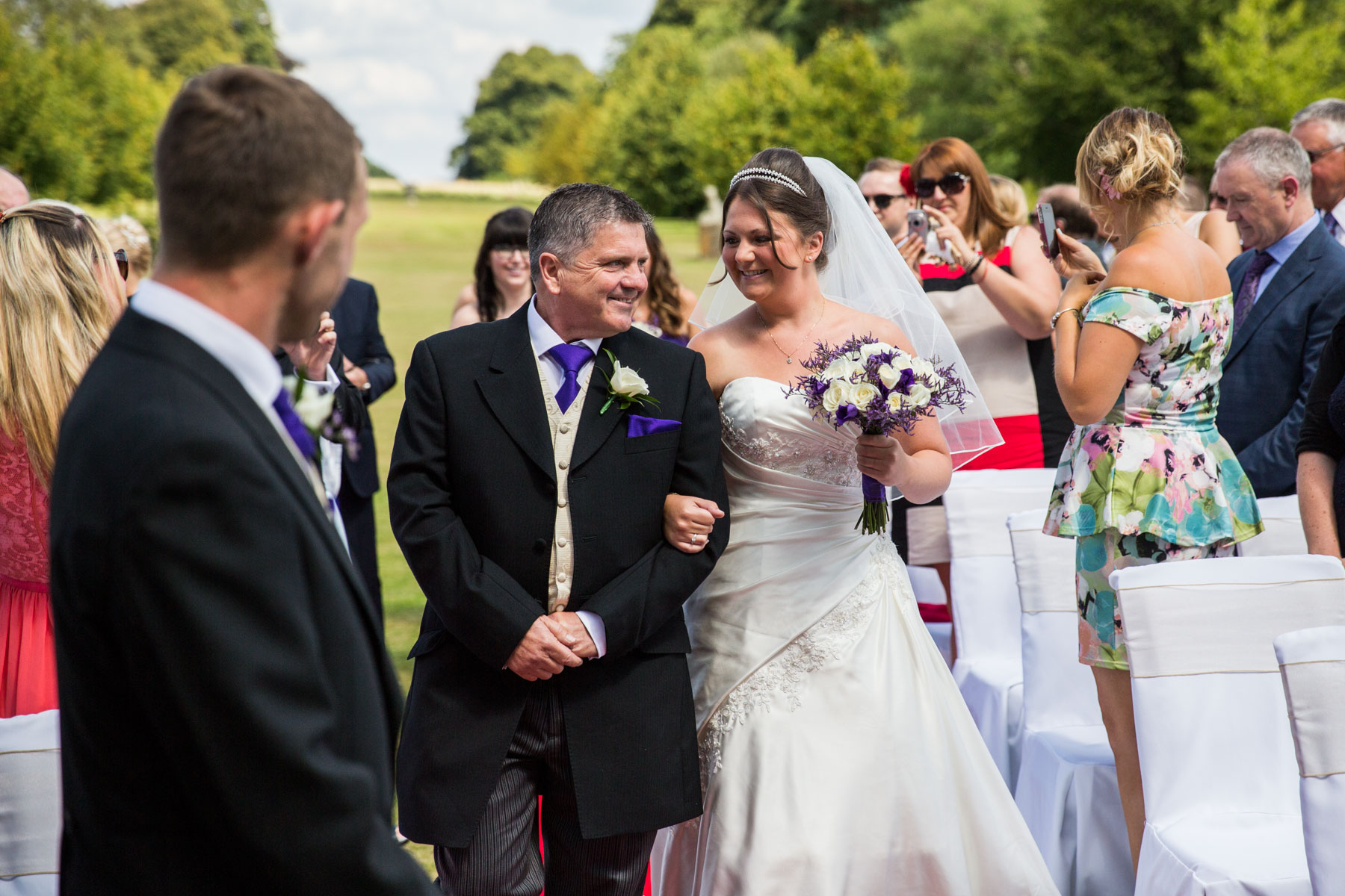 Buxted Park Hotel Wedding Photography Sussex
