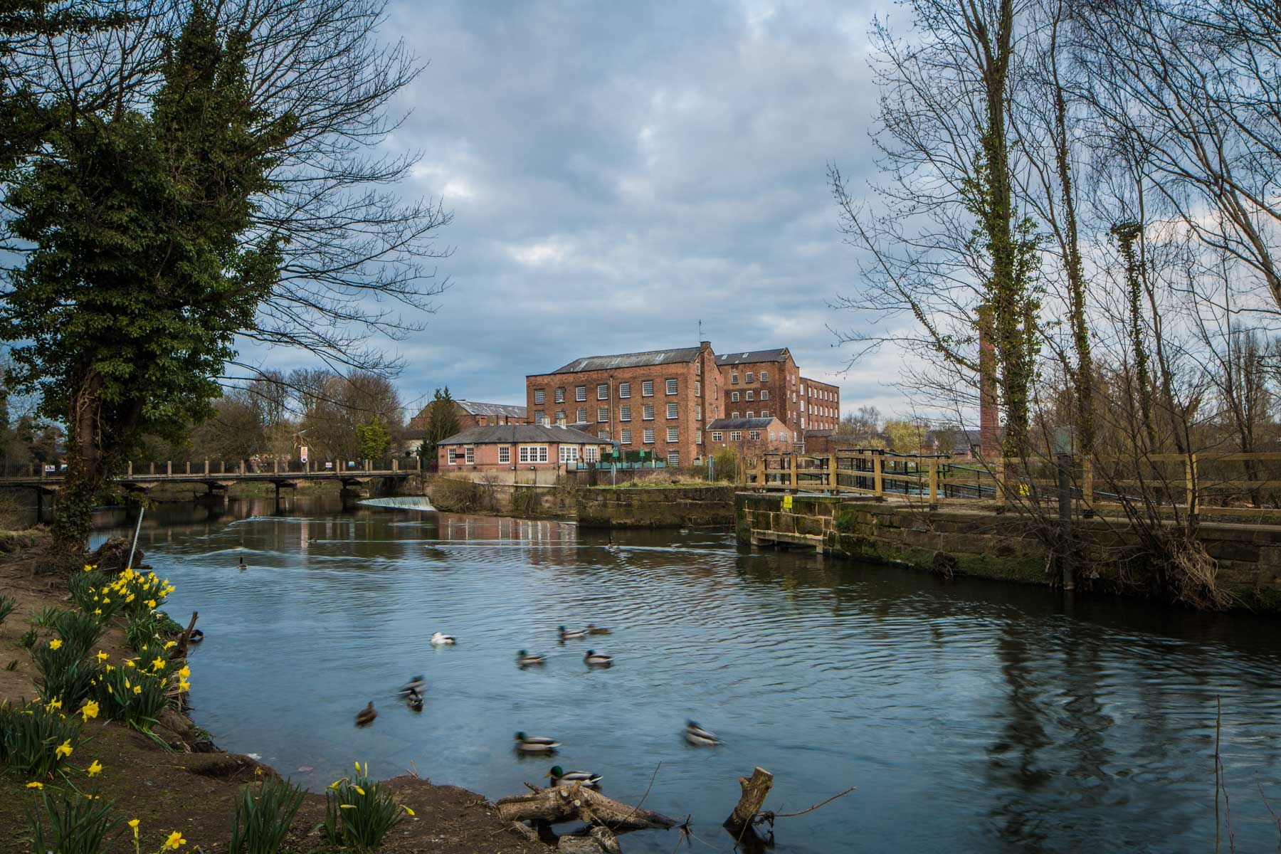 Darley Abbey Mills Architectural Photography Richard Murgatroyd