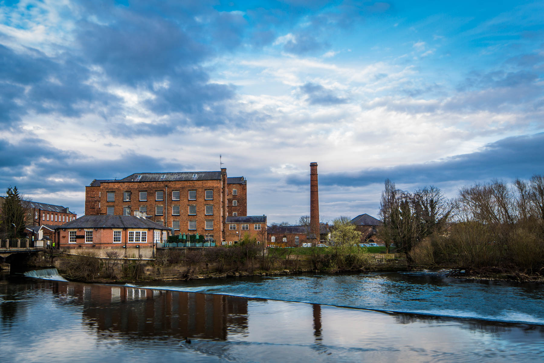 Darley Abbey Mills Architectural Photography