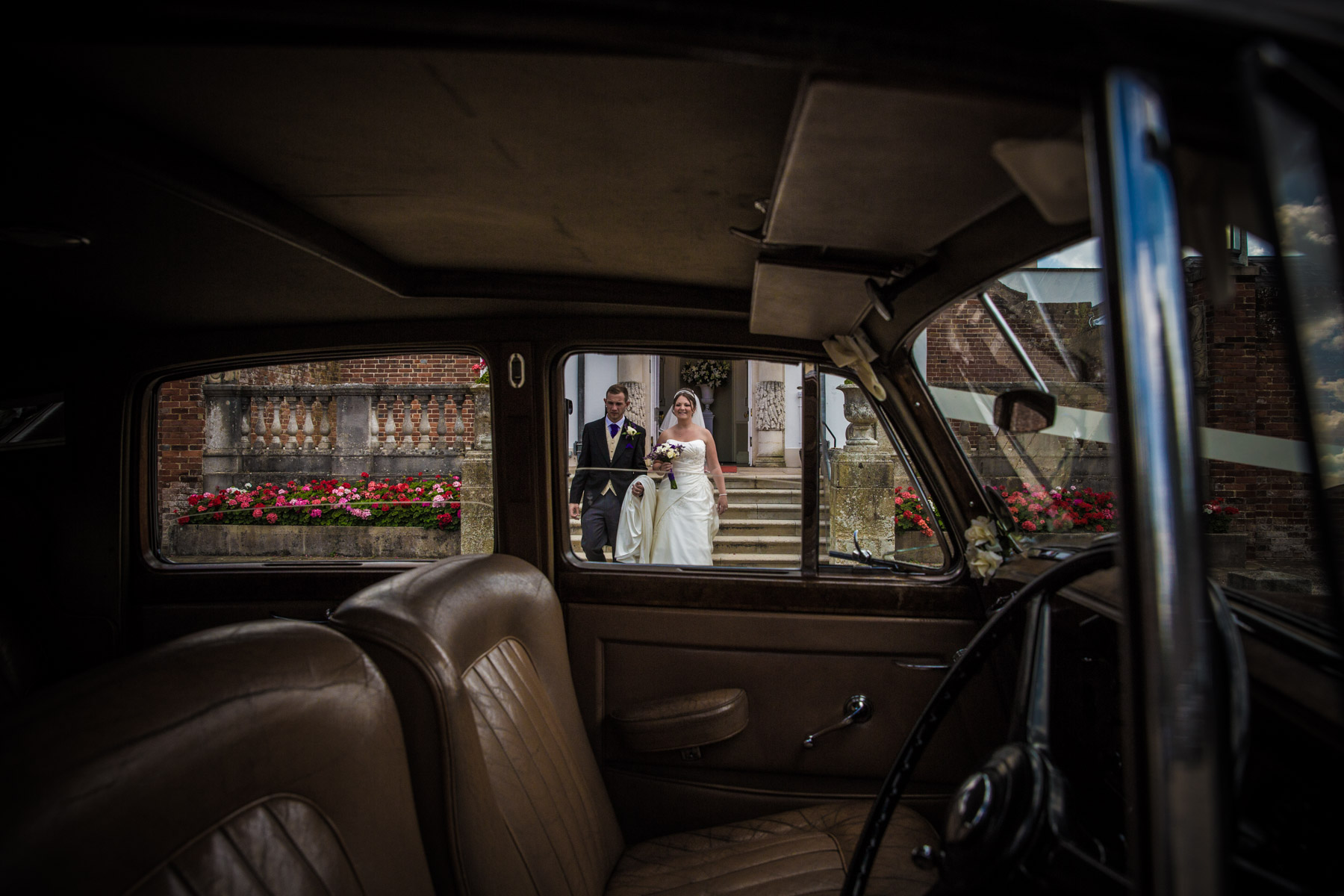 Paladins Classic Cars Sussex wedding photographer Richard Murgatroyd Photography