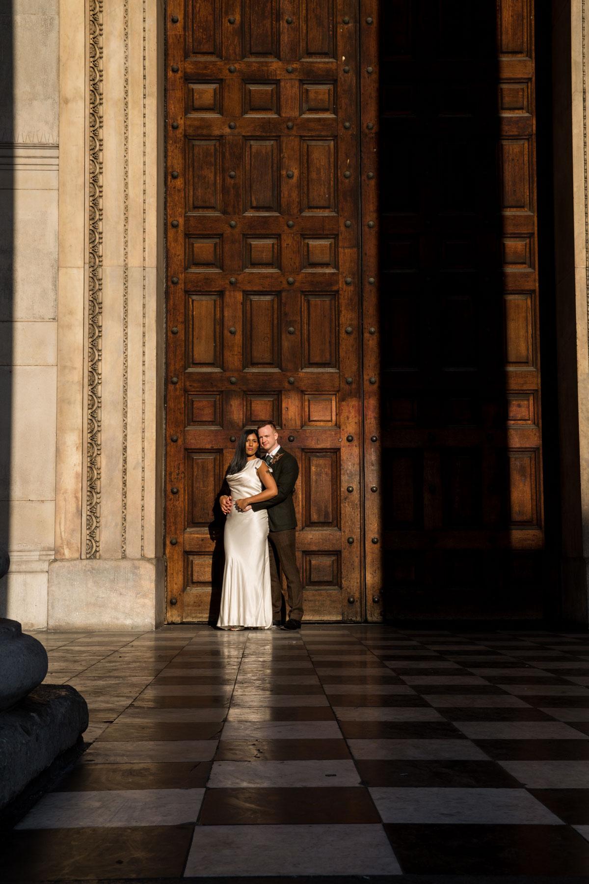 St Pauls Cathedral Wedding Photographer - Richard Murgatroyd Photography