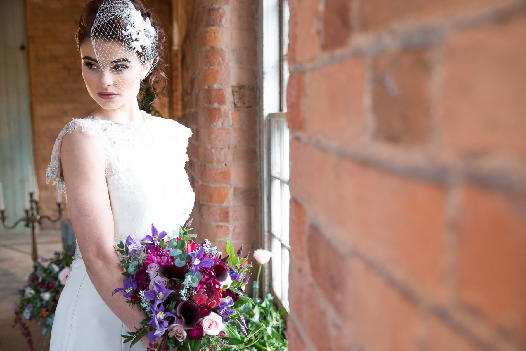 The West Mill at Darley Abbey Mills Styled Wedding Shoot by Richard Murgatroyd
