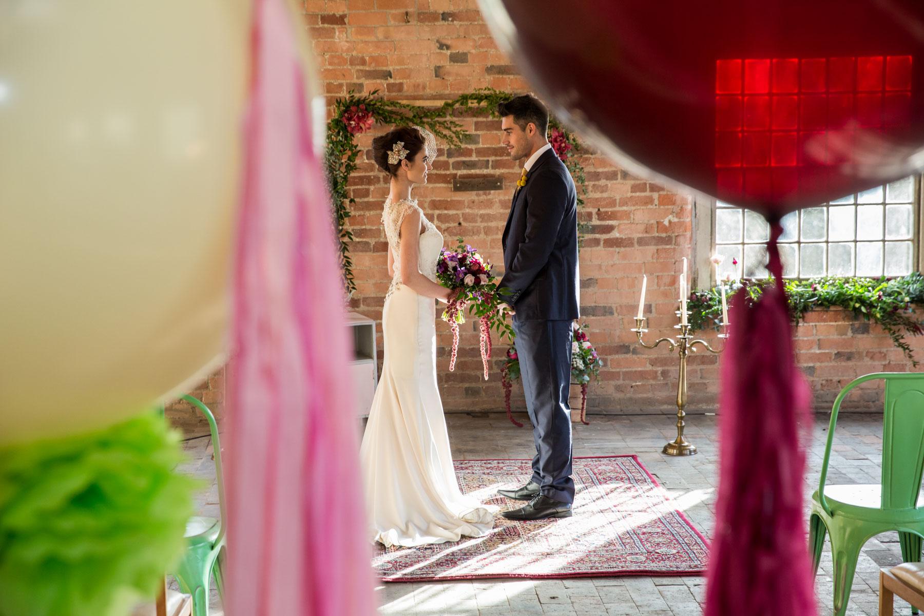 The West Mill at Darley Abbey Mills Styled Wedding Shoot by Richard Murgatroyd