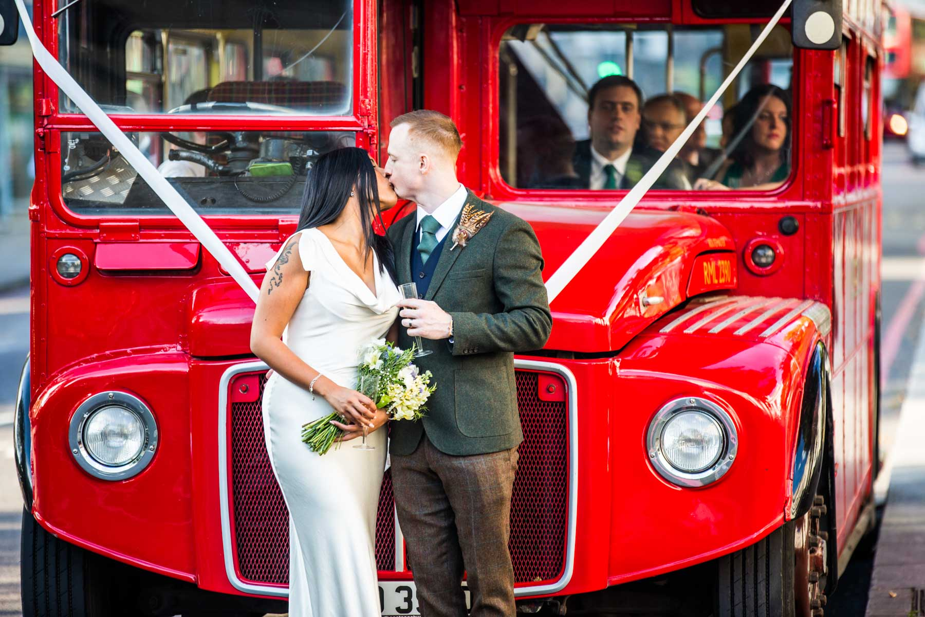 Routemaster Wedding Photography by Richard Murgatroyd
