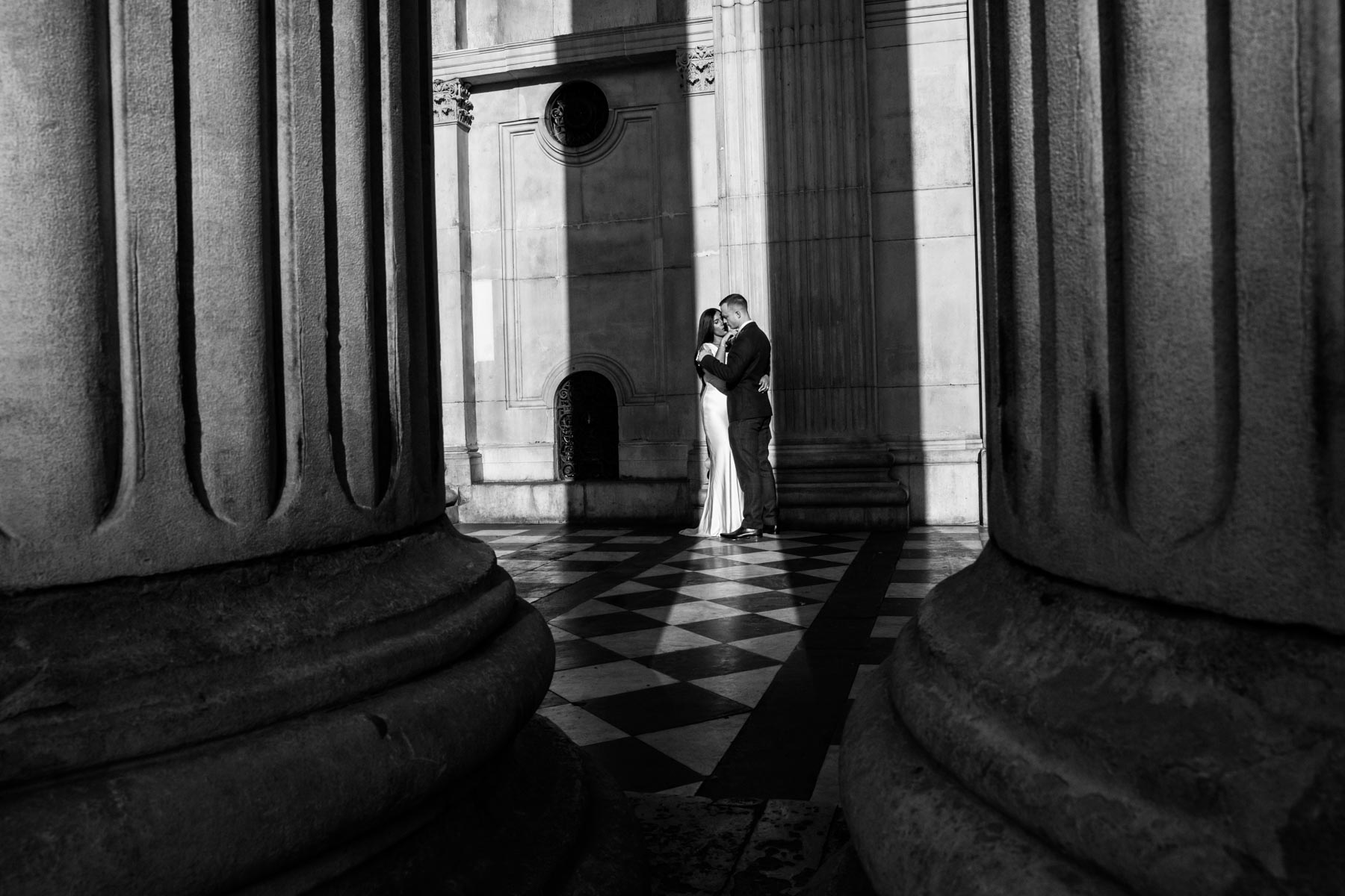 St Pauls Cathedral Wedding Photographer - Richard Murgatroyd Photography