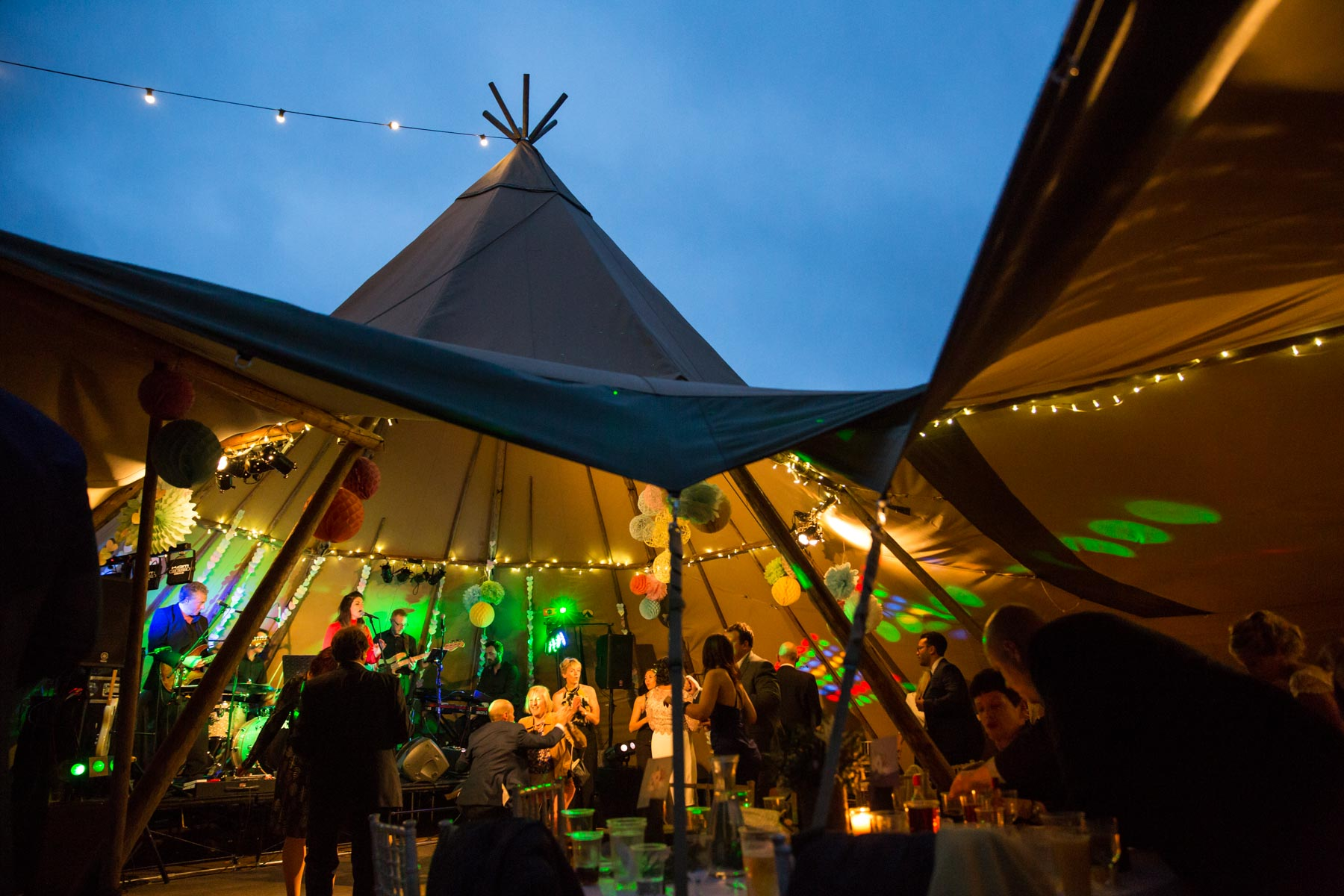 Tipi Wedding Photography - World Inspired Tents