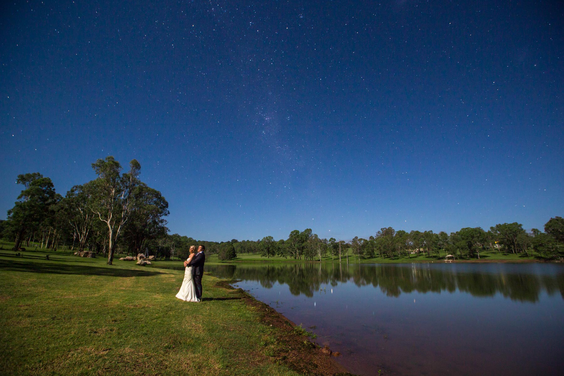Moogerah Dam Wedding Photography Queensland