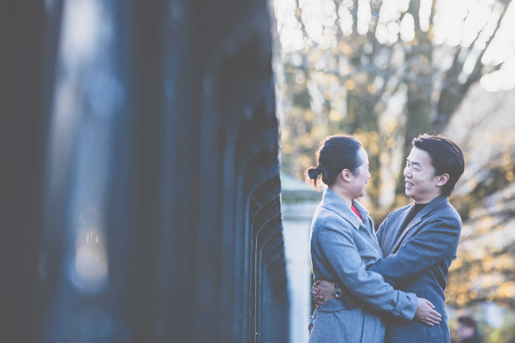 Regents Park Engagement Photography London