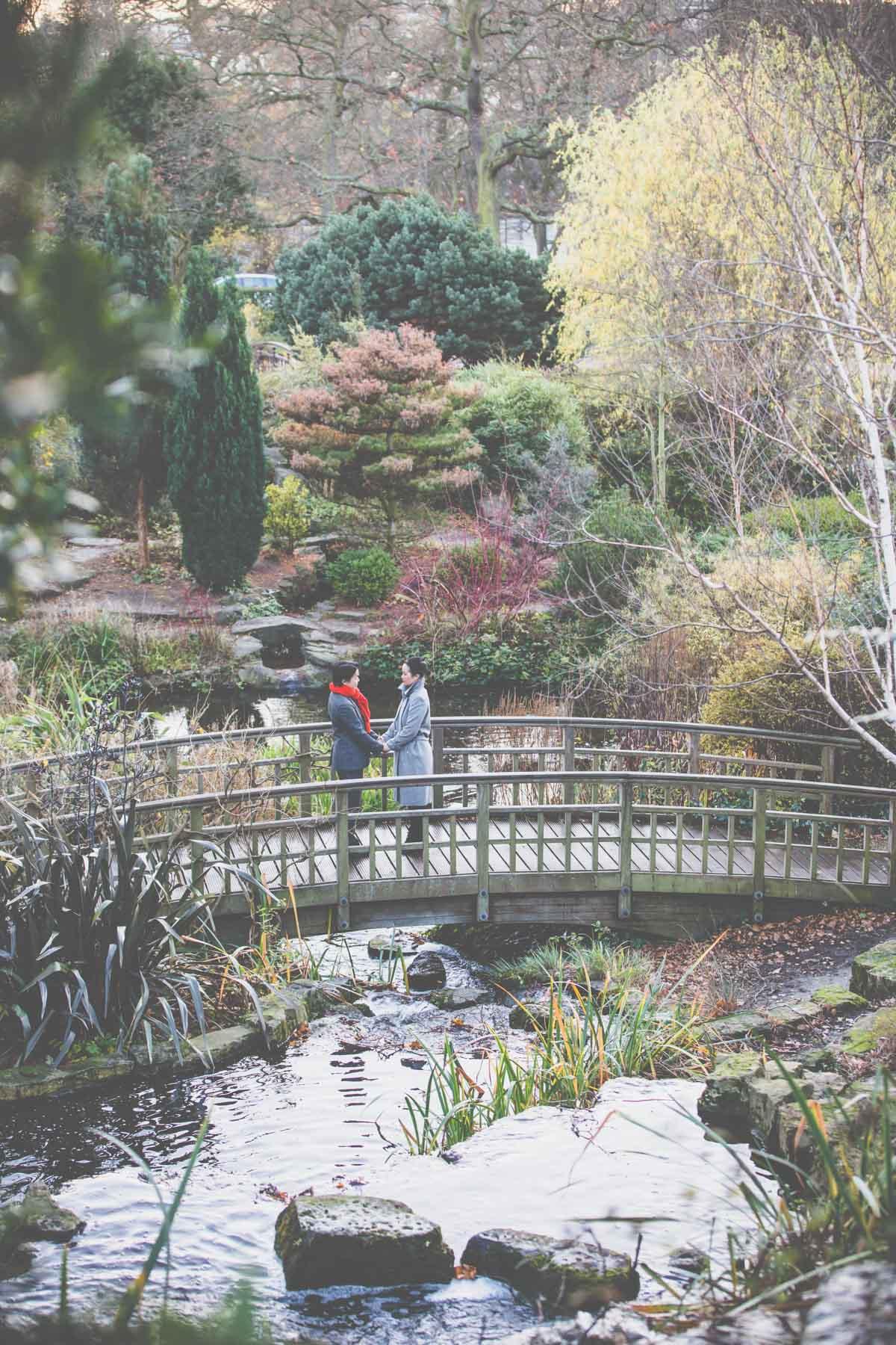 Best London Wedding Photographer Regents Park Engagement Shoot L