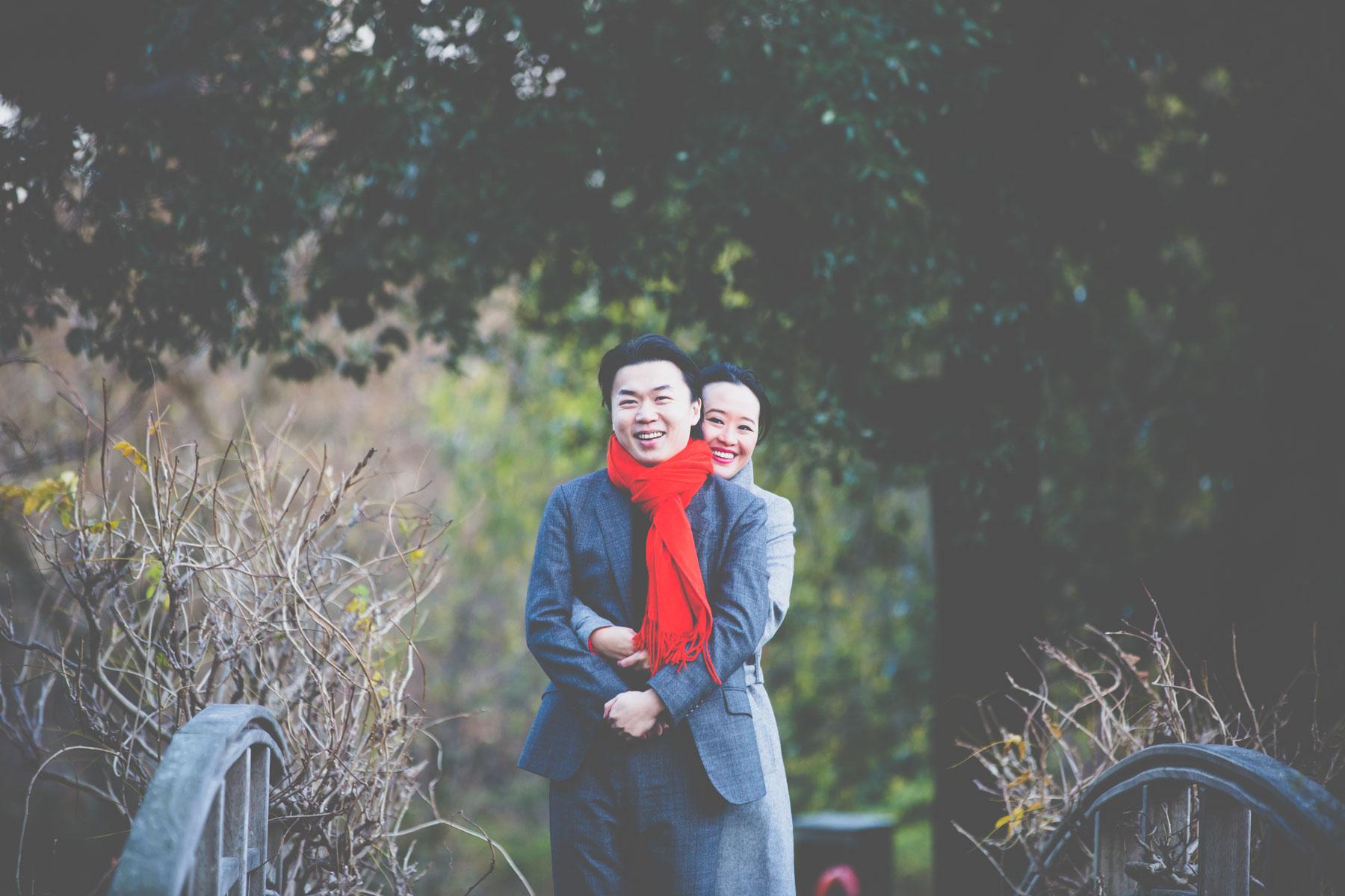 Chinese Engagement Photographer Regents Park Engagement Shoot Lo