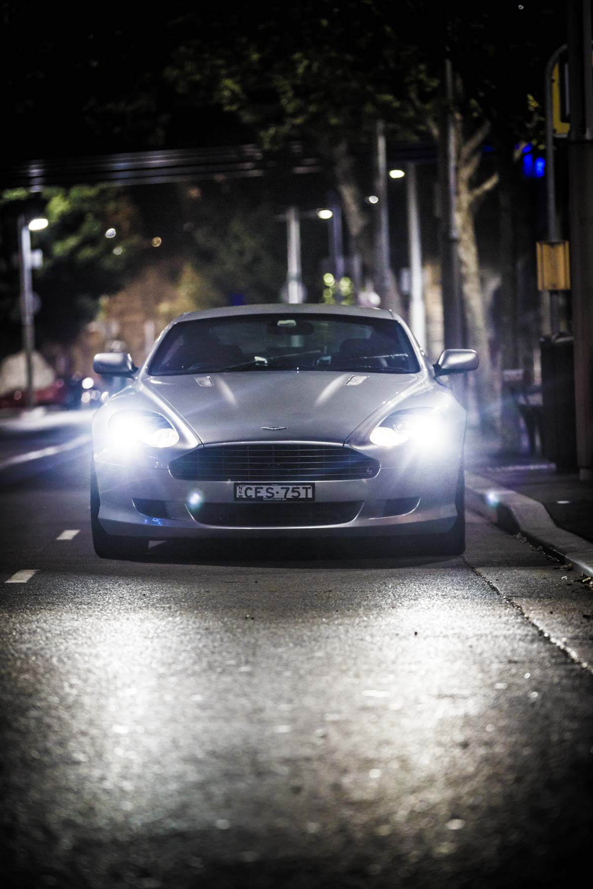 Aston Martin DB9 - London Performance Car Photography