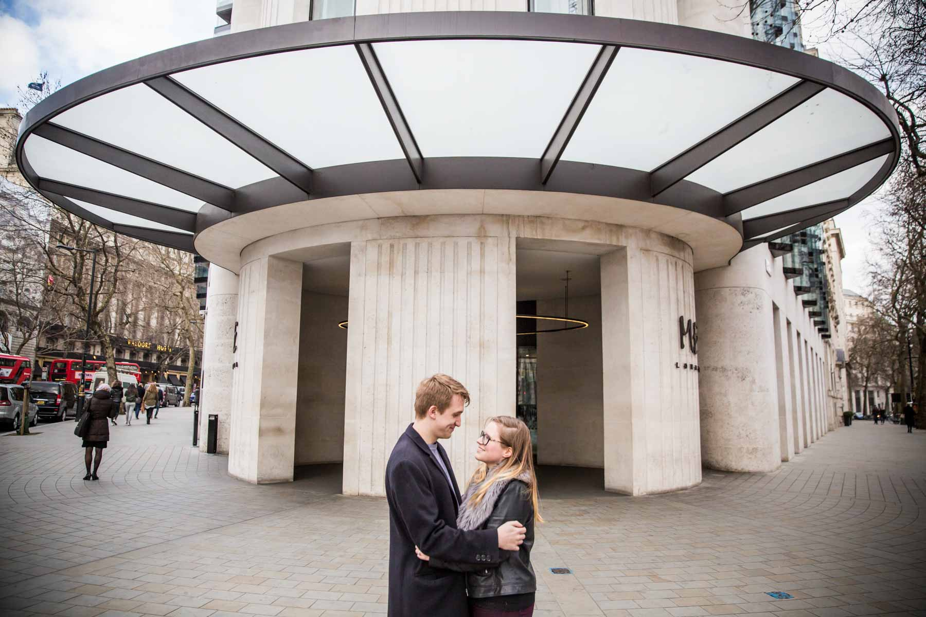 Central London Holborn Engagement Photography
