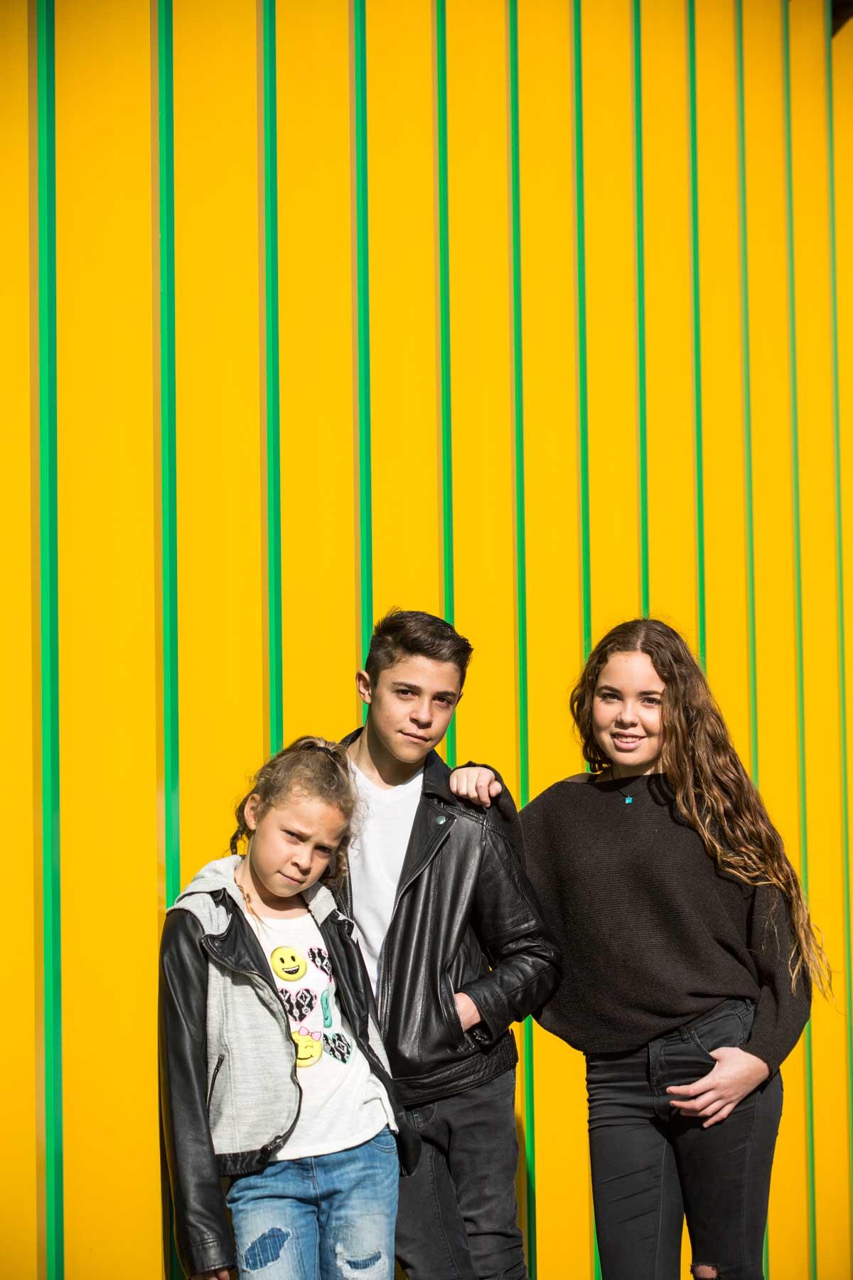 Camden Bar Mitzvah Photography Urban Family Shoot
