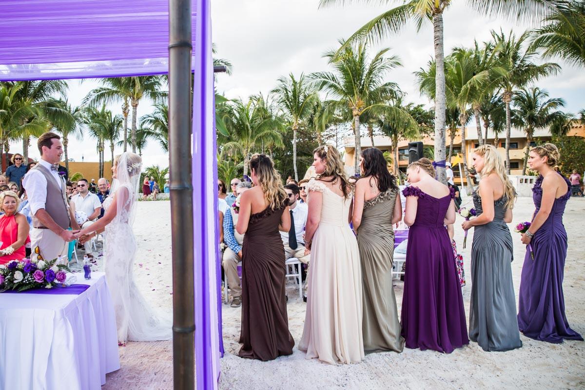 Barcelo Maya Riviera Mexico Destination Wedding Photography