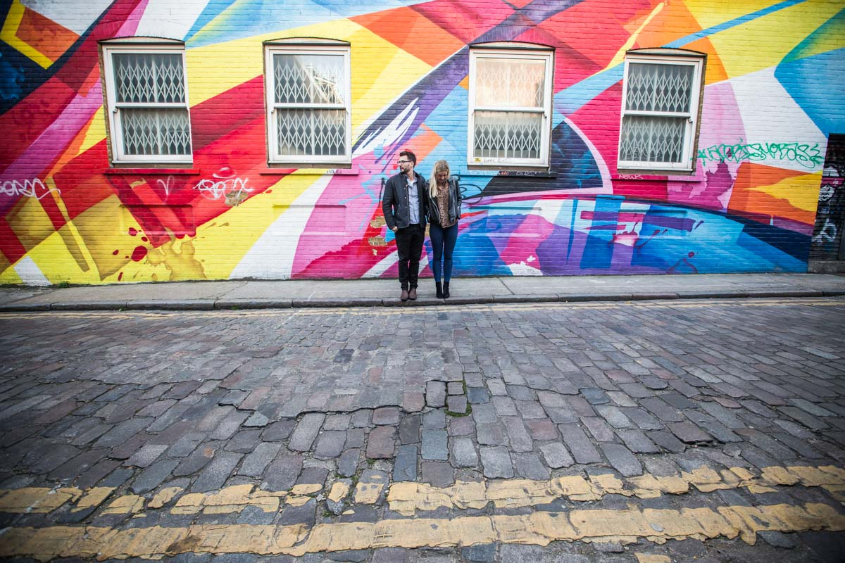 Shoreditch Engagement Photography London