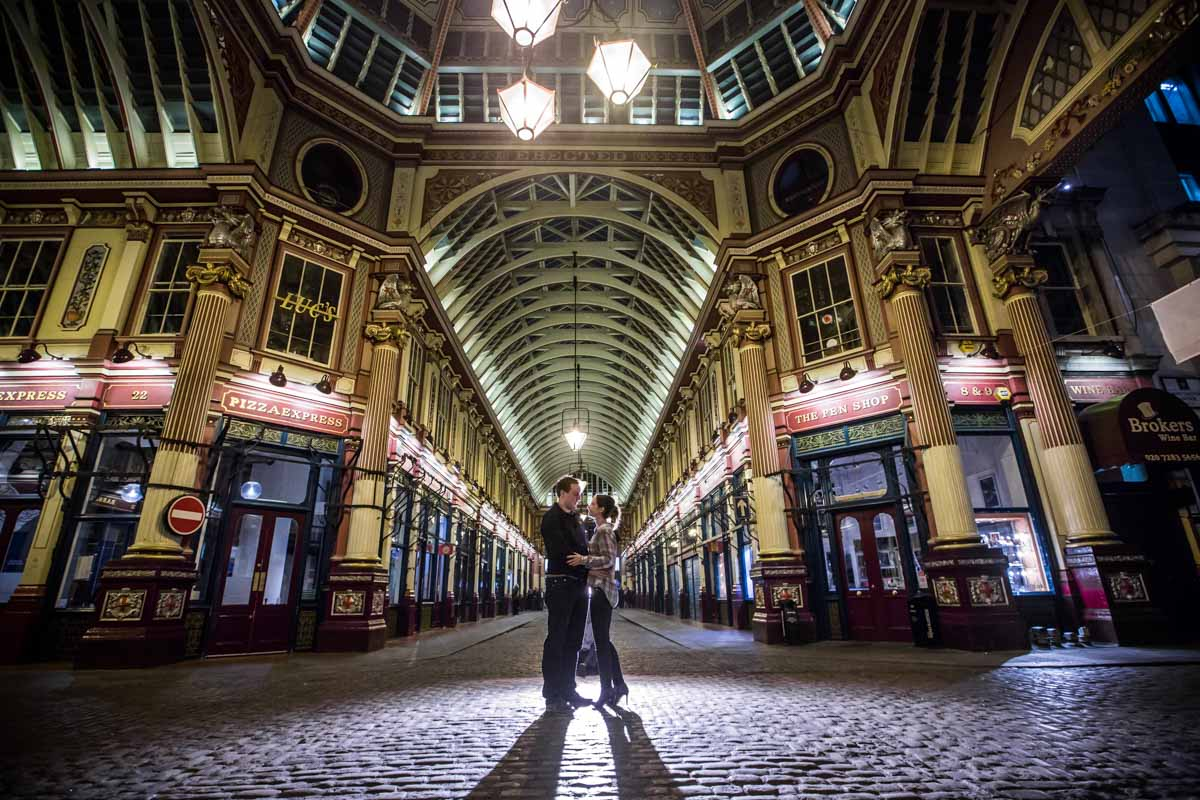 City of London Engagement Photographer - Emily and Nat