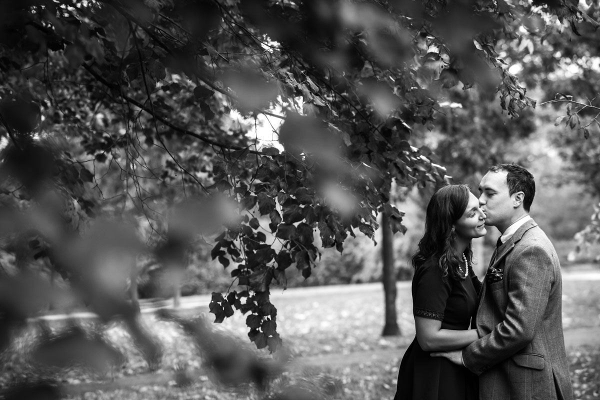 Regents Park London Engagement Photographer - Siera and Hugh