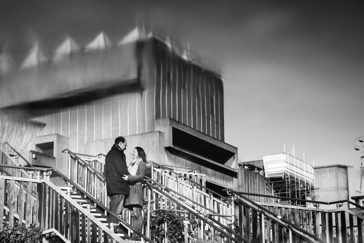 Documentary Wedding Photography South Bank Engagement Photographer - Monika and Oliver