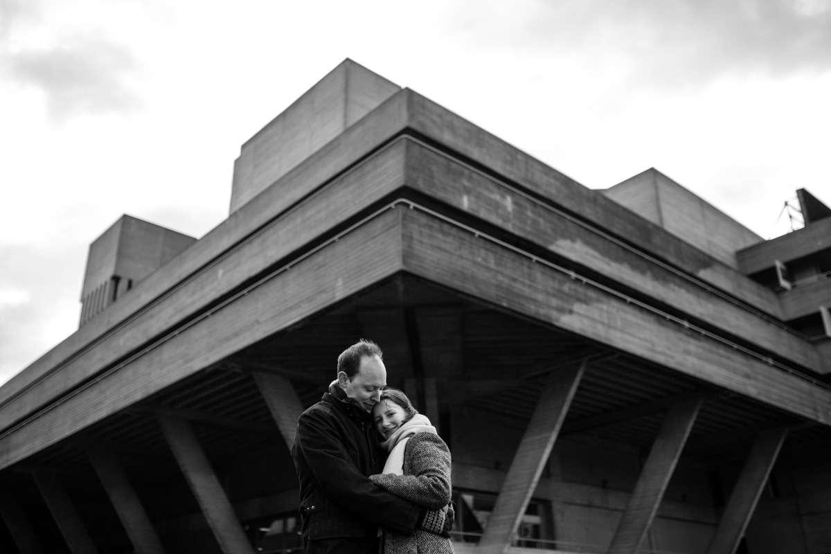 Documentary Wedding Photography South Bank Engagement Photographer - Monika and Oliver