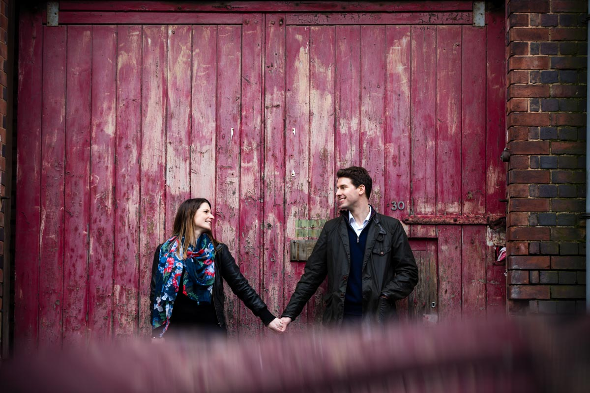 Birmingham Jewellery Quarter Engagement Photographer - Rosa and Jonathan