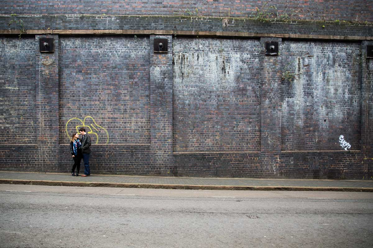Birmingham Jewellery Quarter Engagement Photographer - Rosa and Jonathan