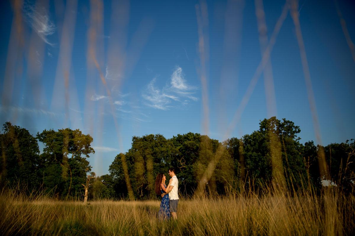 Richmond Park Engagement Photographer - Dalia and David