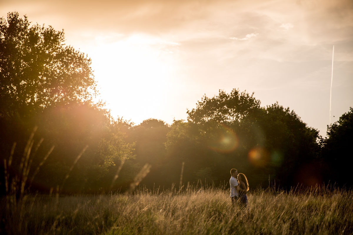Richmond Park Engagement Photographer - Dalia and David