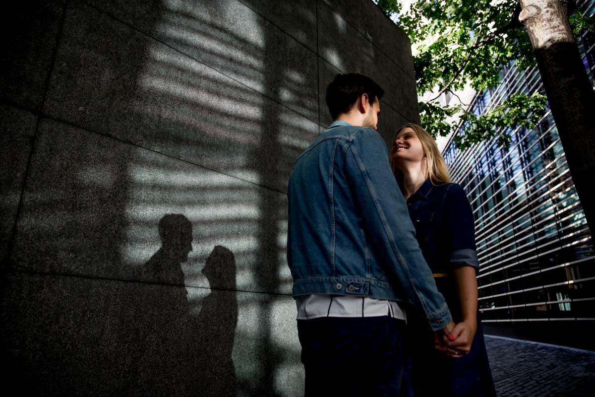 Amazing Urban Engagement Photography London - Sarah and Chris