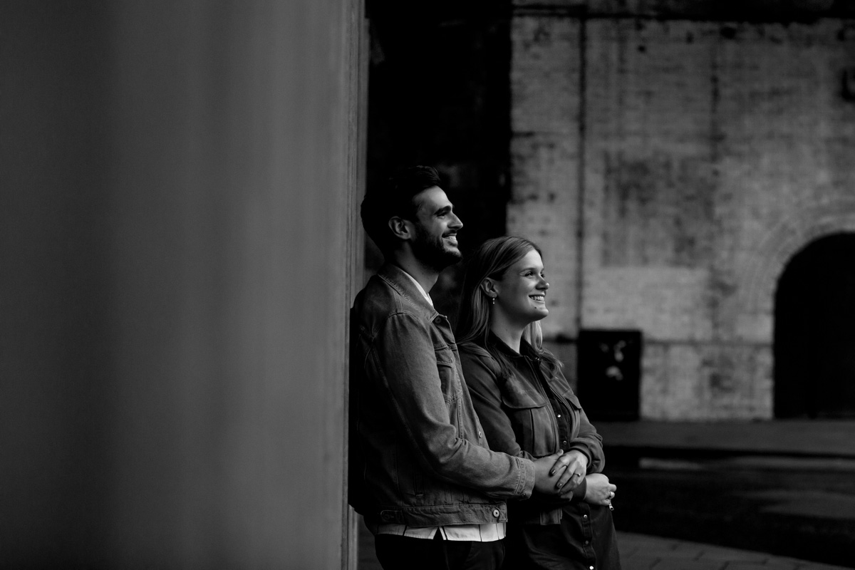 Amazing Urban Engagement Photography London - Sarah and Chris