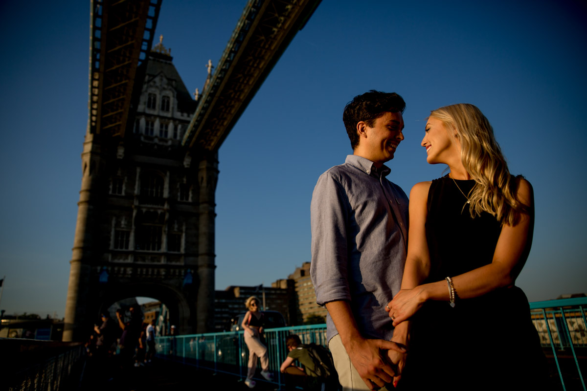 Best Engagement Photography City of London - Sam and Seb