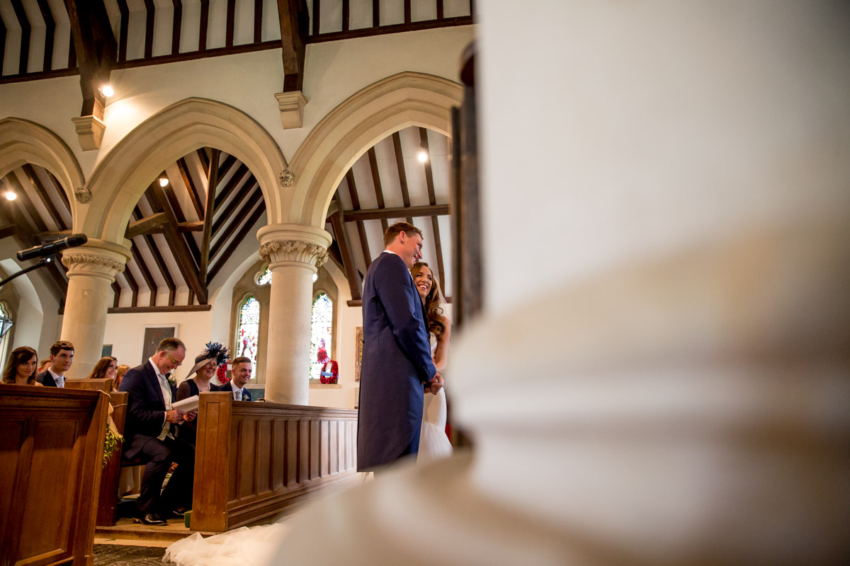Great Tythe Barn Tetbury Wedding Photography - Rebecca and Chris