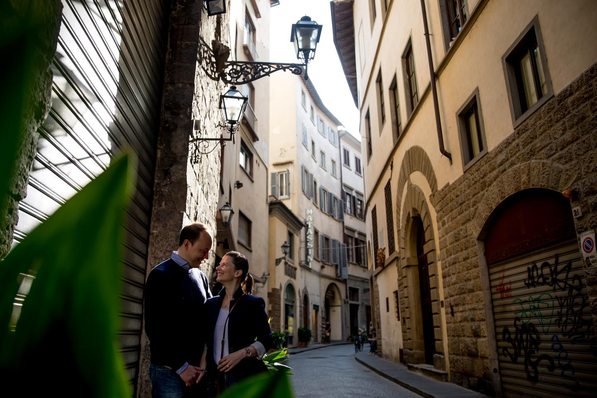Destination Pre Wedding Photography Florence Italy - Monika and Oliver