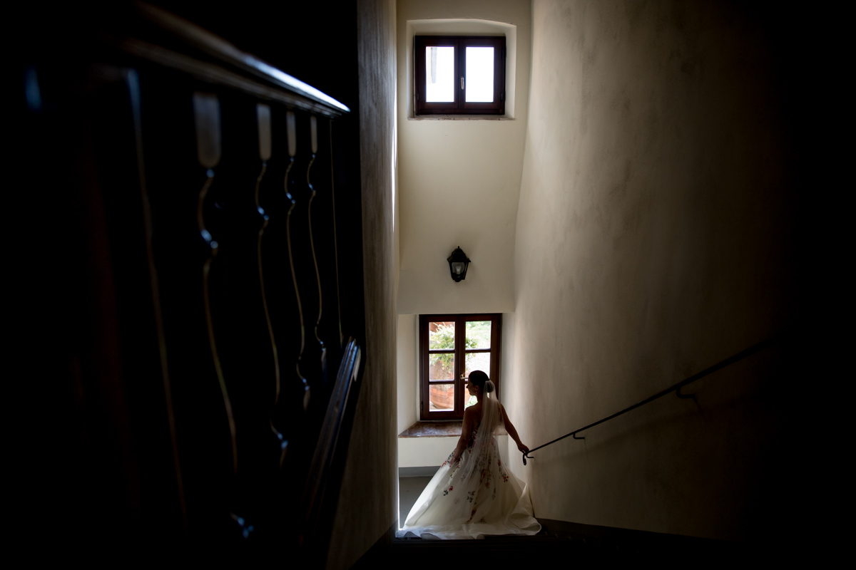 Villa Medicea di Lilliano Destination Wedding Photography Florence Italy
