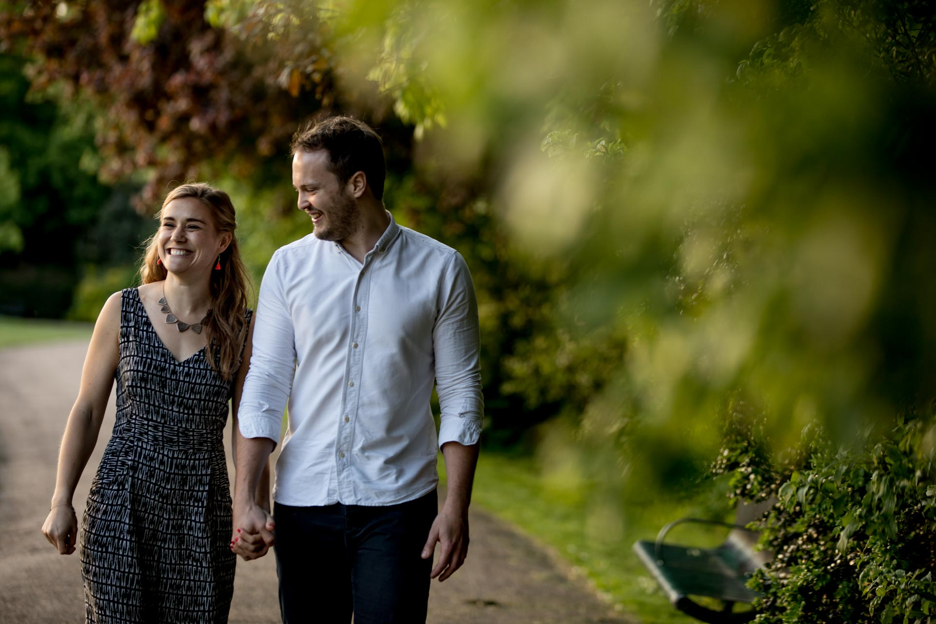 Peckham Rye Engagement Photography South London