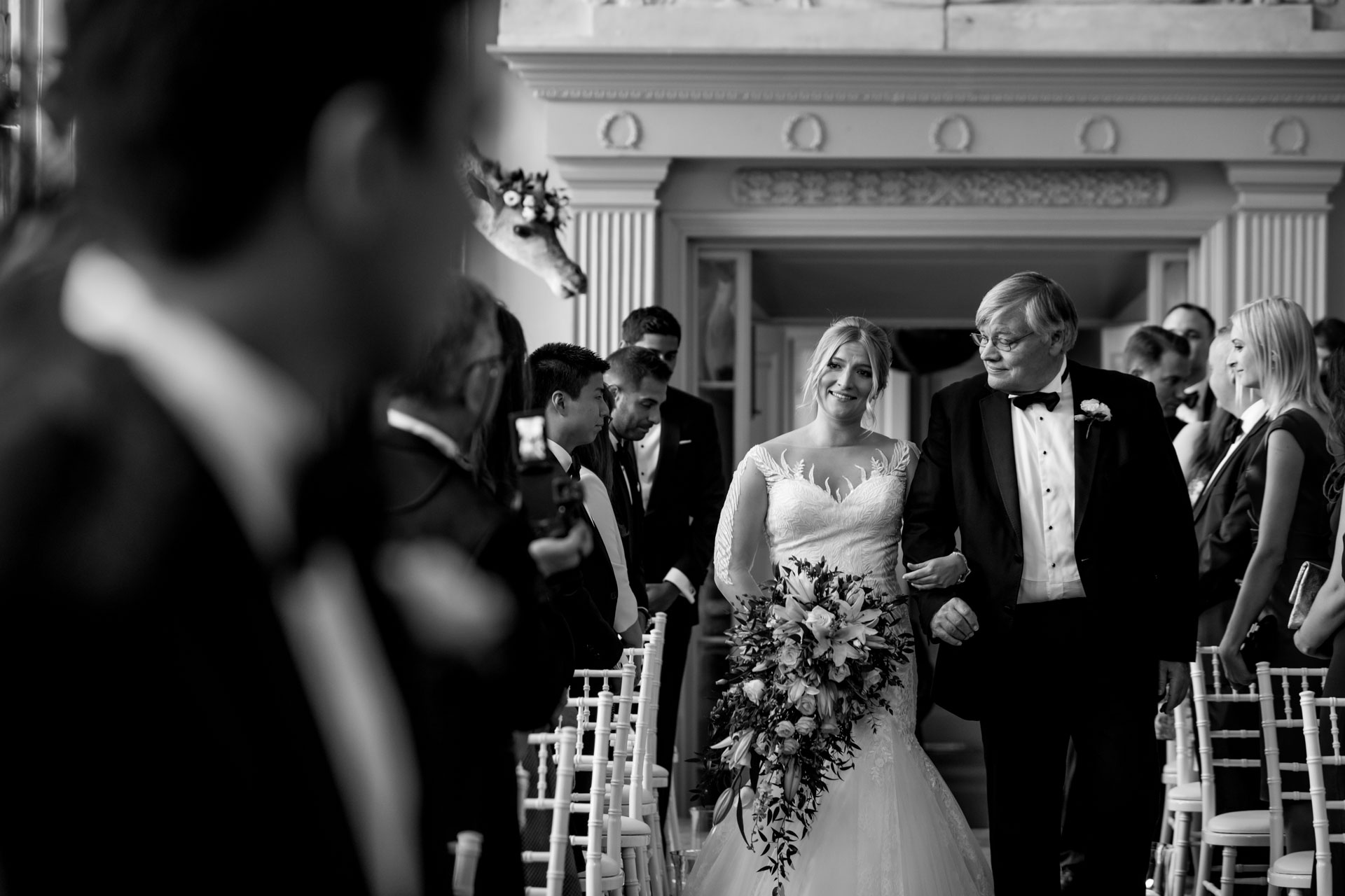 Aynhoe Park Wedding Photographer Oxfordshire - Harriet & Andrew