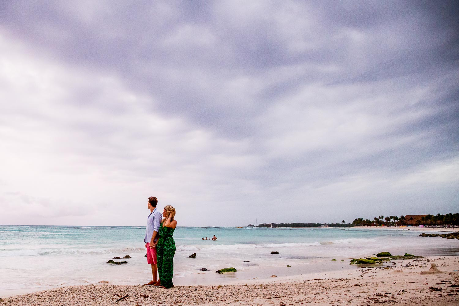 Barcelo Maya Riviera Mexico Engagement Photography