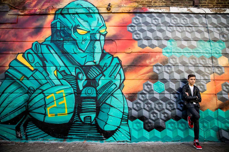 Urban Camden Family Photography London