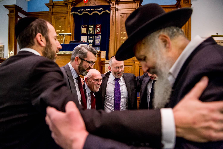Woodside Park Synagogue London Bar Mitzvah Photography