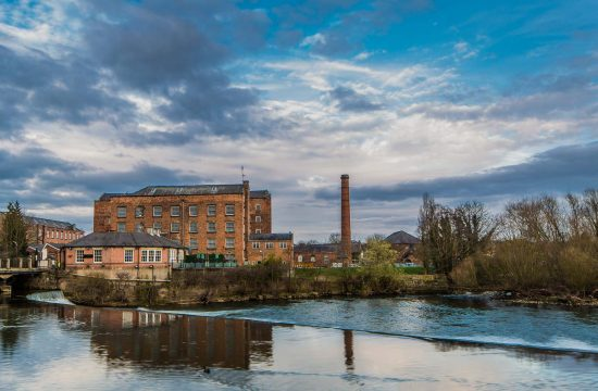 Industrial Architectural Photography at Darley Abbey Mills