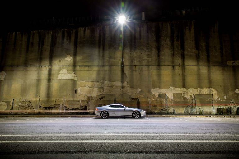 Aston Martin DB9 - London Performance Car Photography