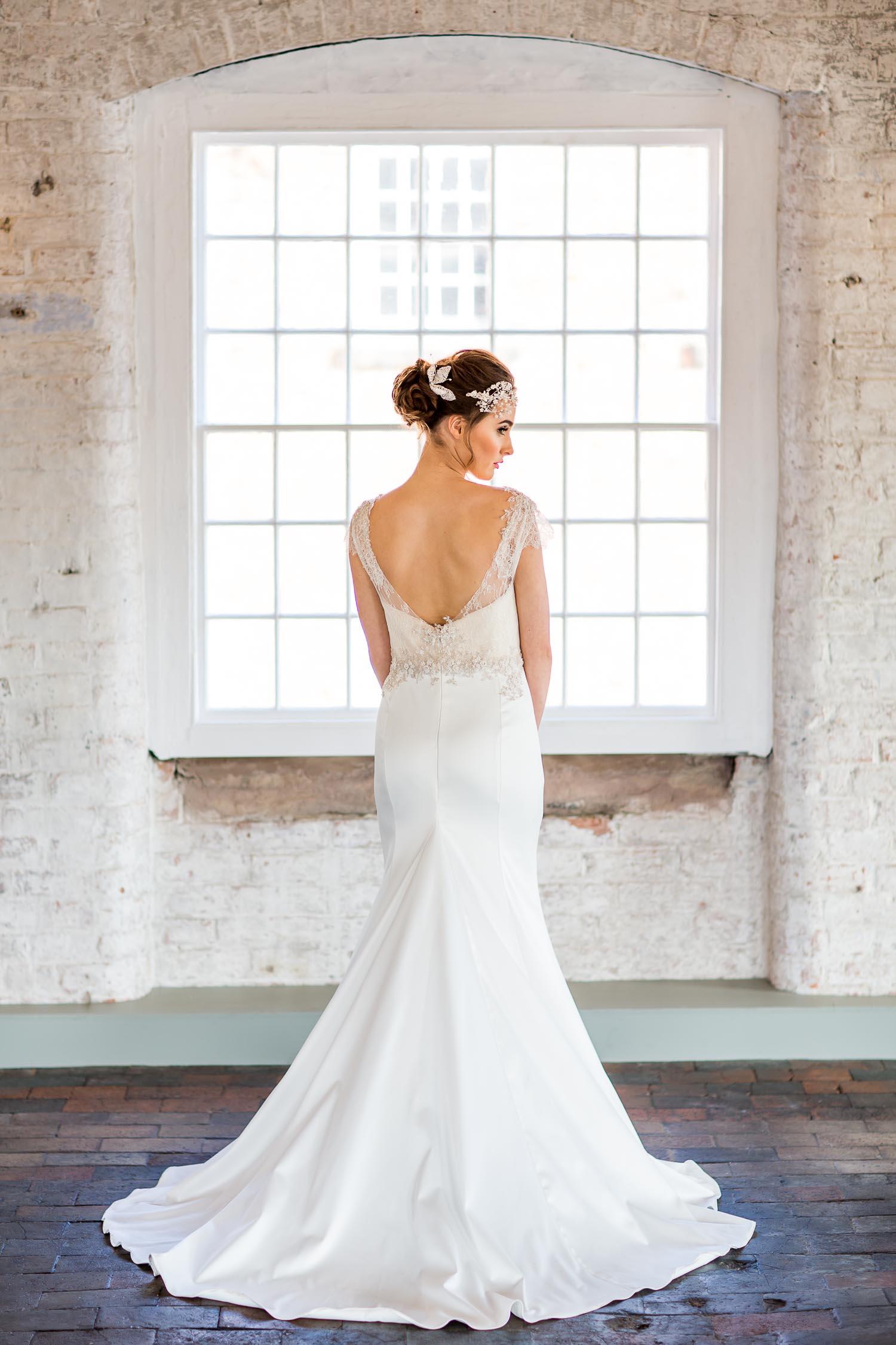 Timeless Couture Haarlem Bridal Derbyshire Wedding Collection West Mill Derbyshire