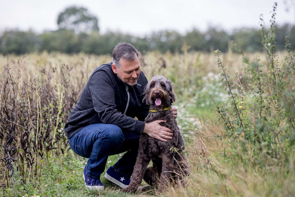 CEO Photographer London - Dogs Trust CEO Owen Sharp