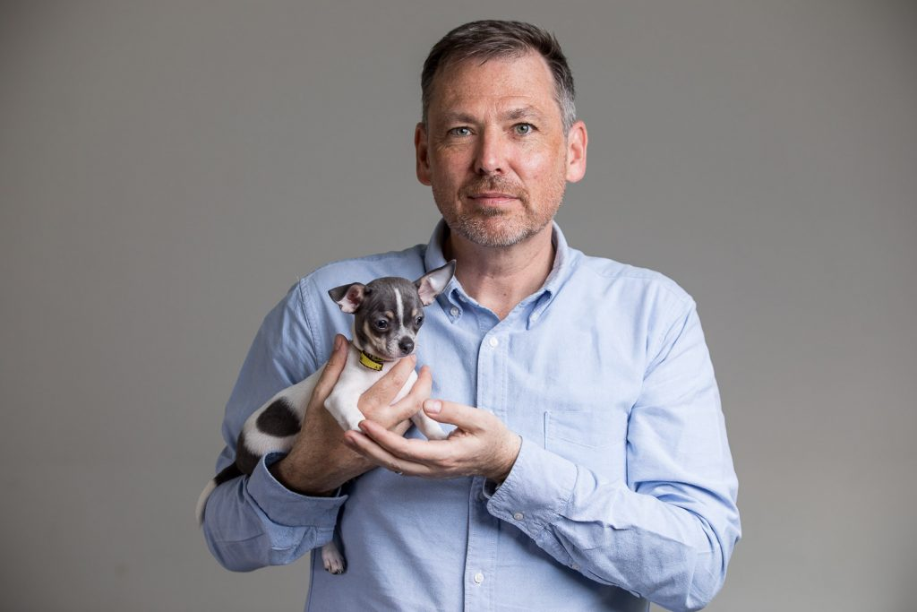 Dogs Trust CEO Owen Sharp by London Commercial and Charity Photographer Richard Murgatroyd