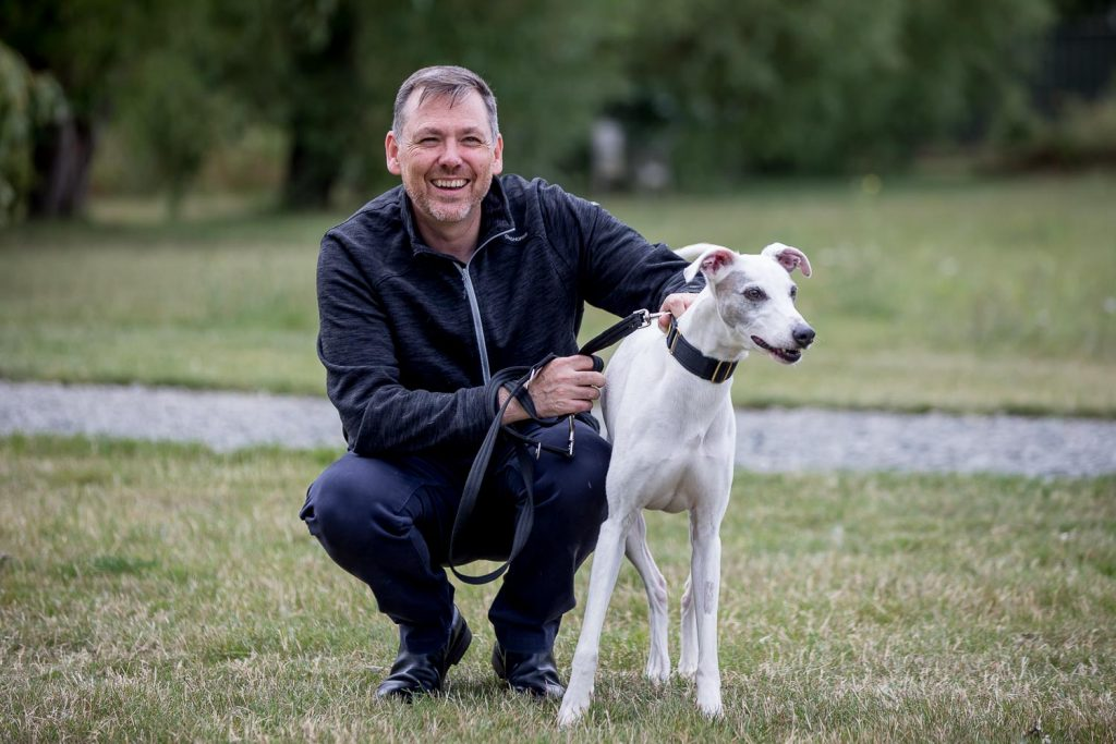 Charity CEO Photographer London - Dogs Trust CEO Owen Sharp