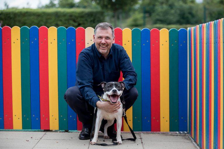 Charity CEO Photographer London - Dogs Trust CEO Owen Sharp